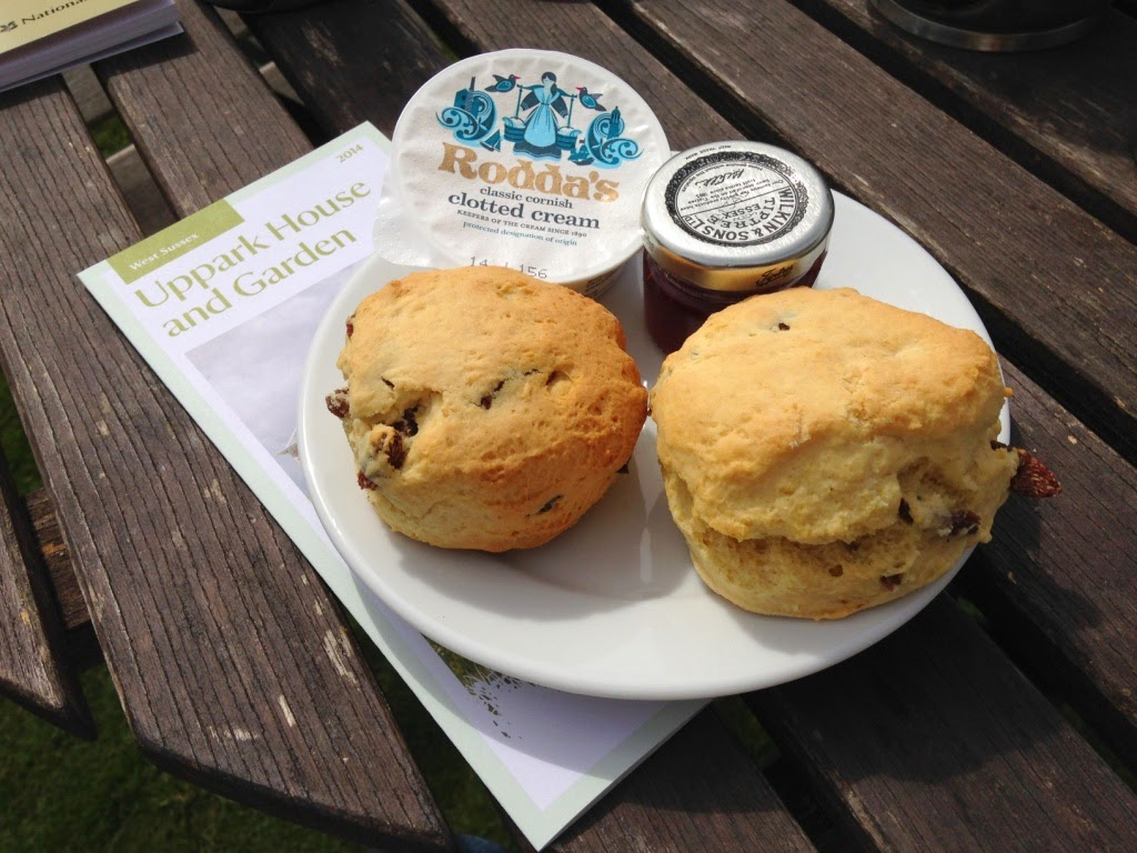 Uppark National Trust Scones