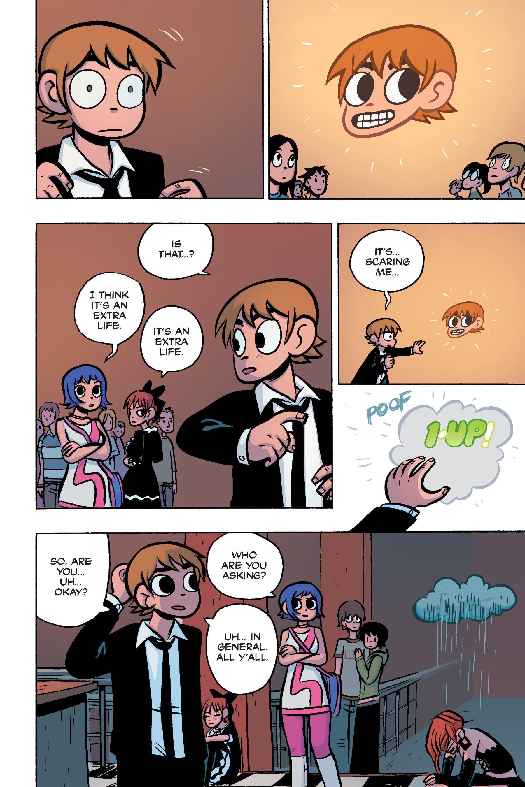 Read online Scott Pilgrim comic -  Issue #3 - 166