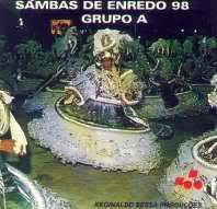foto da capa do cd sambas de enredo 1998 grupo de acesso
