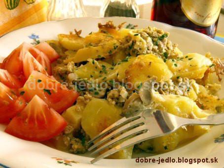 Zapekané zemiaky - recepty