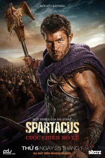 Xem phim Chiến Binh Spartacus Phần 3: Cuộc Chiến Nô Lệ