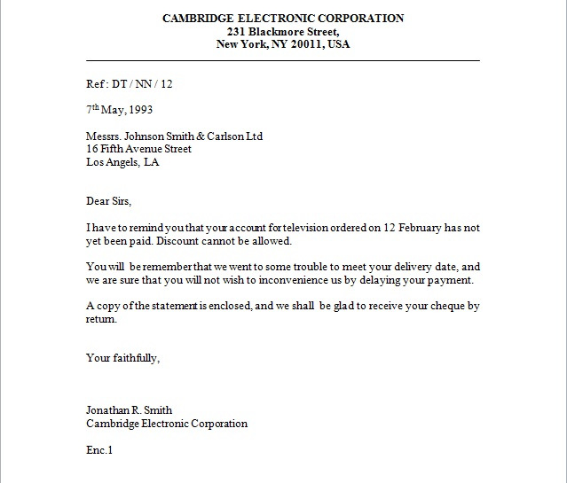 Doc693951 Format of Letter of Enquiry Sample Of Letter Of – An Inquiry Letter