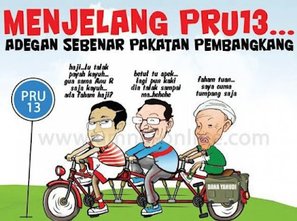 PAS...&#39;SAYA CUMA TUMPANG SAJA...&#39;