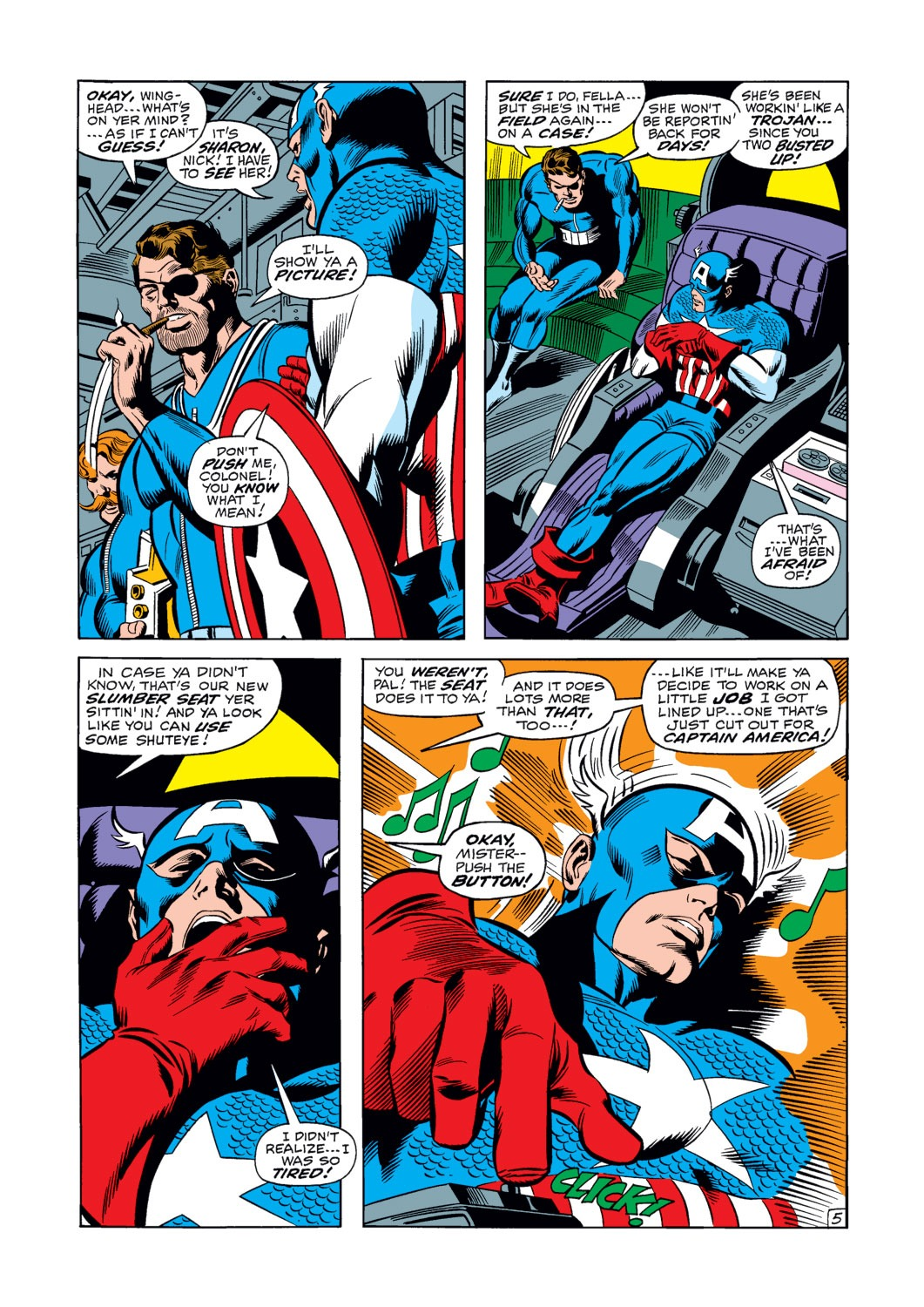 Captain America (1968) Issue #120 #34 - English 6