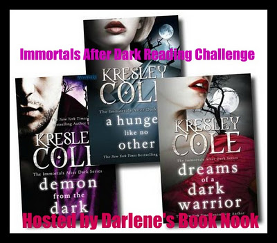 Immortals After Dark Reading Challenge