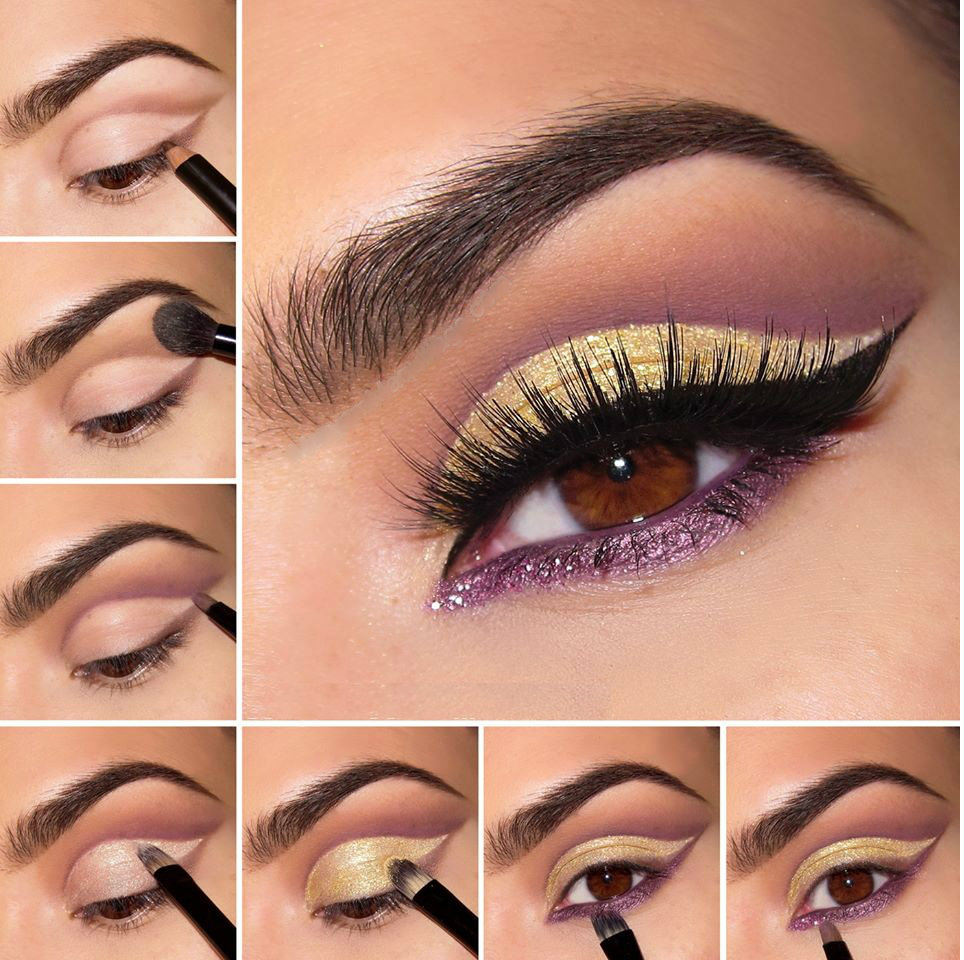 Eye Makeup Tutorial With Step By Step Pictures Beautiful Girls
