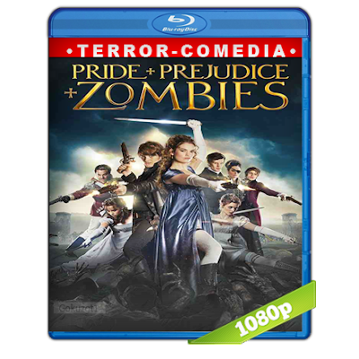 Orgullo, Prejuicio Y Zombies (2016) BRRip Full 1080p Audio Trial Latino-Castellano-Ingles 5.1