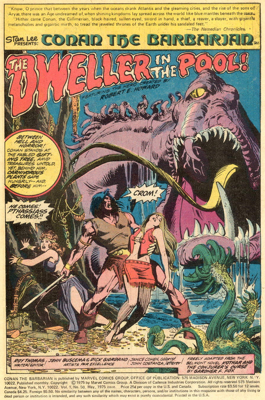 Conan the Barbarian (1970) Issue #50 #62 - English 2