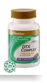 dtx complex, supplemet untuk hati
