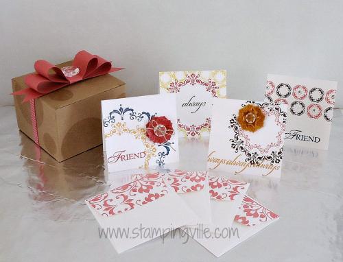 Daydream Medallions Card & Box Set