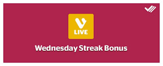 Wednesday Viggle LIVE Streak Bonus, Viggle Bonus, Viggle Live, Viggle Mom