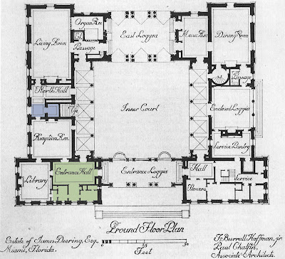 Architect design vizcaya entry hall for Renaissance homes floor plans
