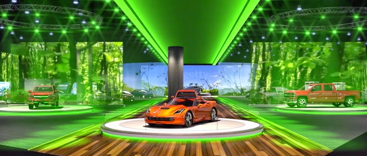 Chevrolet's Detroit Auto Show Display