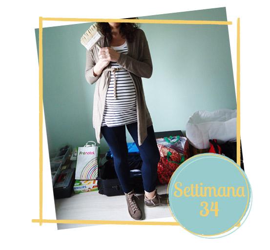 34 settimana di gravidanza