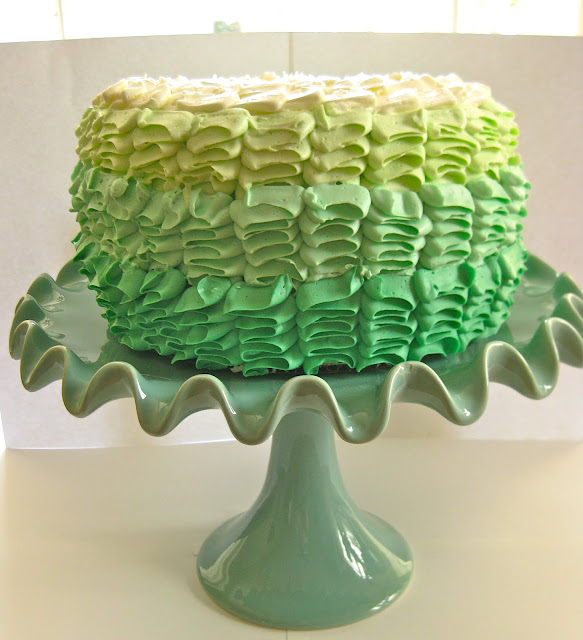 Pixie Crust: Ombre Margarita Layer Cake