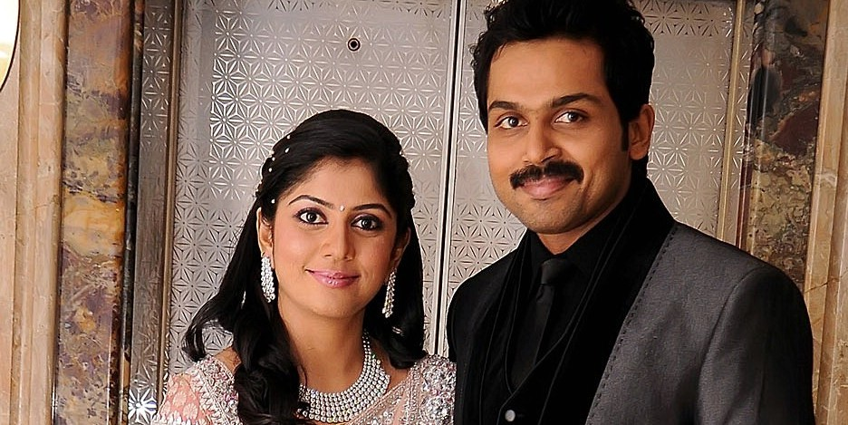hairstyle coiging: Karthik and Ranjini Wedding Reception