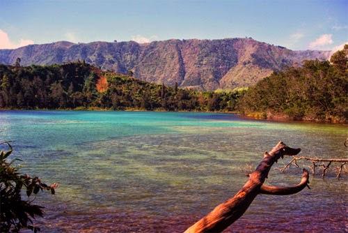 Wisata Dieng Plateau : Telaga Warna