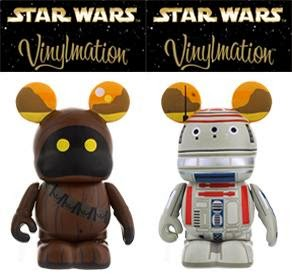 Star Wars Vinylmation Series 4 by Disney - Jawa & R5-D4 Astromech Droid 2 Pack