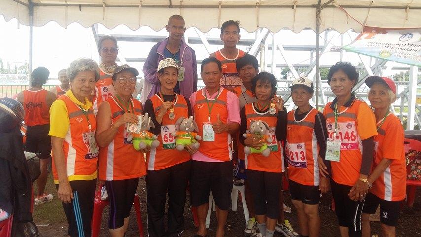 """ประมวลภาพการแข่งขันกีฬาและนันทนาการผู้สูงอายุแห่งประเทศไทย ครั้งที่ 10 ประจำปี 2559 """"สะเร็นเกมส์"""""""