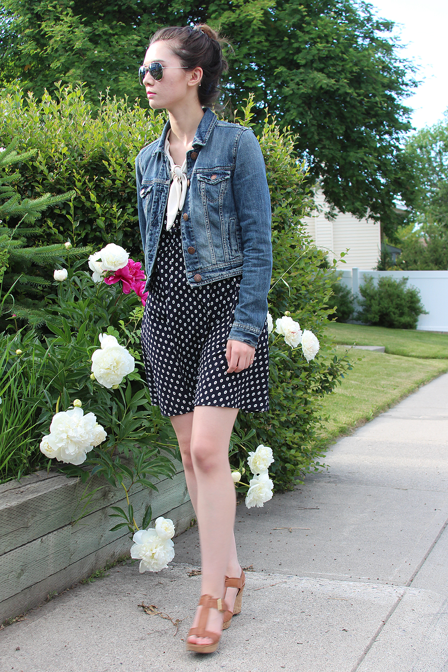 Franco Sarto, Korean fashion, American Eagle, Calgary Stampede, ootd, summer fashion