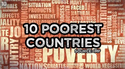 Top Poorest Countries Of The World In Top World - Poorest nations in the world list