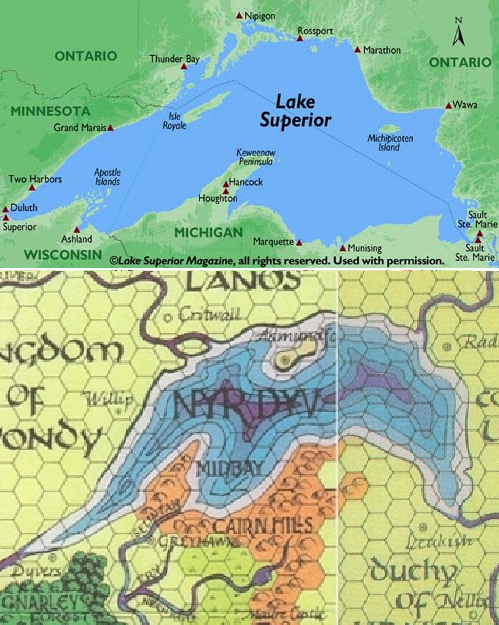 Roles rules and rolls north american greyhawk recently i decided to develop a little more the small campaign world that had grown up around the university gaming societys forays into the castle of the gumiabroncs Images
