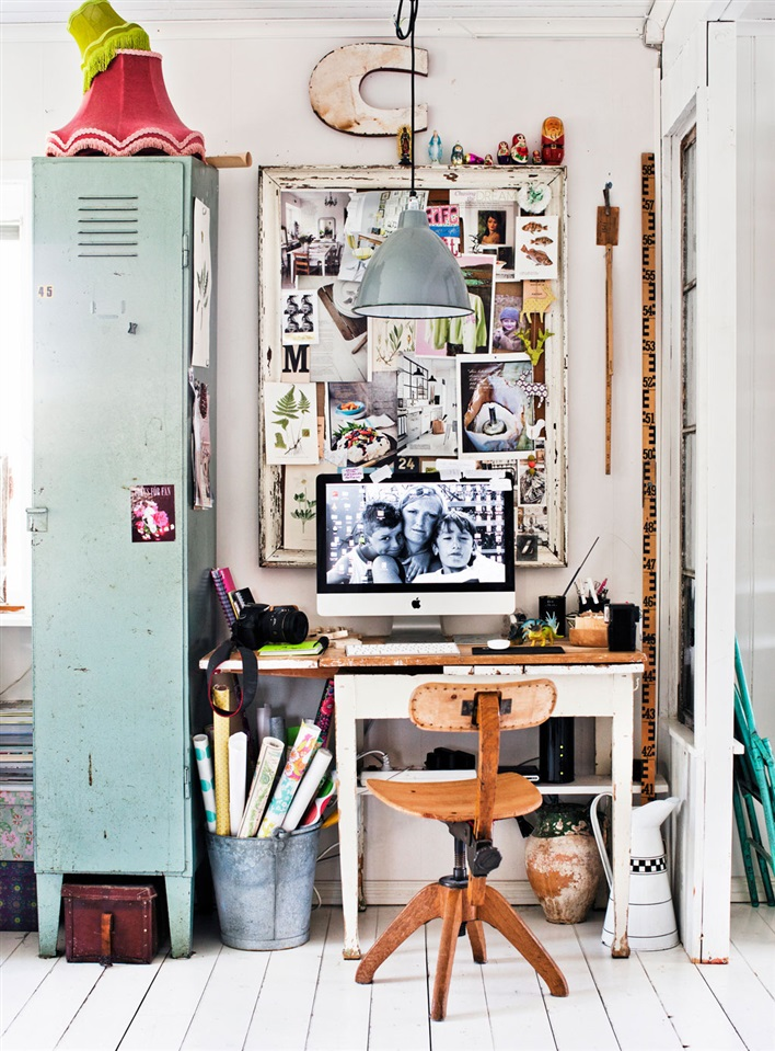 79ideas messy charming home office