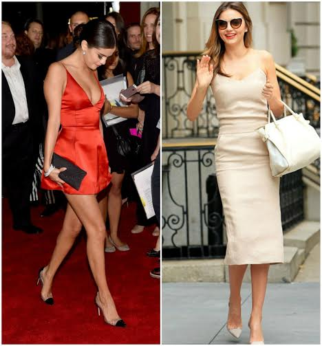scarpins de vinil gianvito rossi celebridades