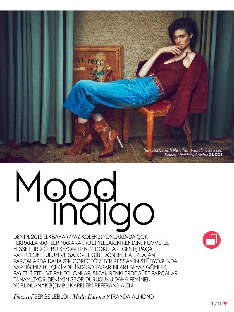 Fashion Model: Manon Leloup - Vogue Turkey, March 2015