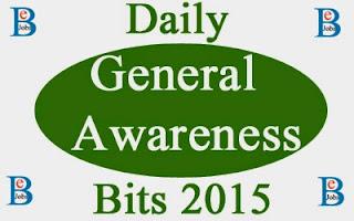 Daily General Awareness