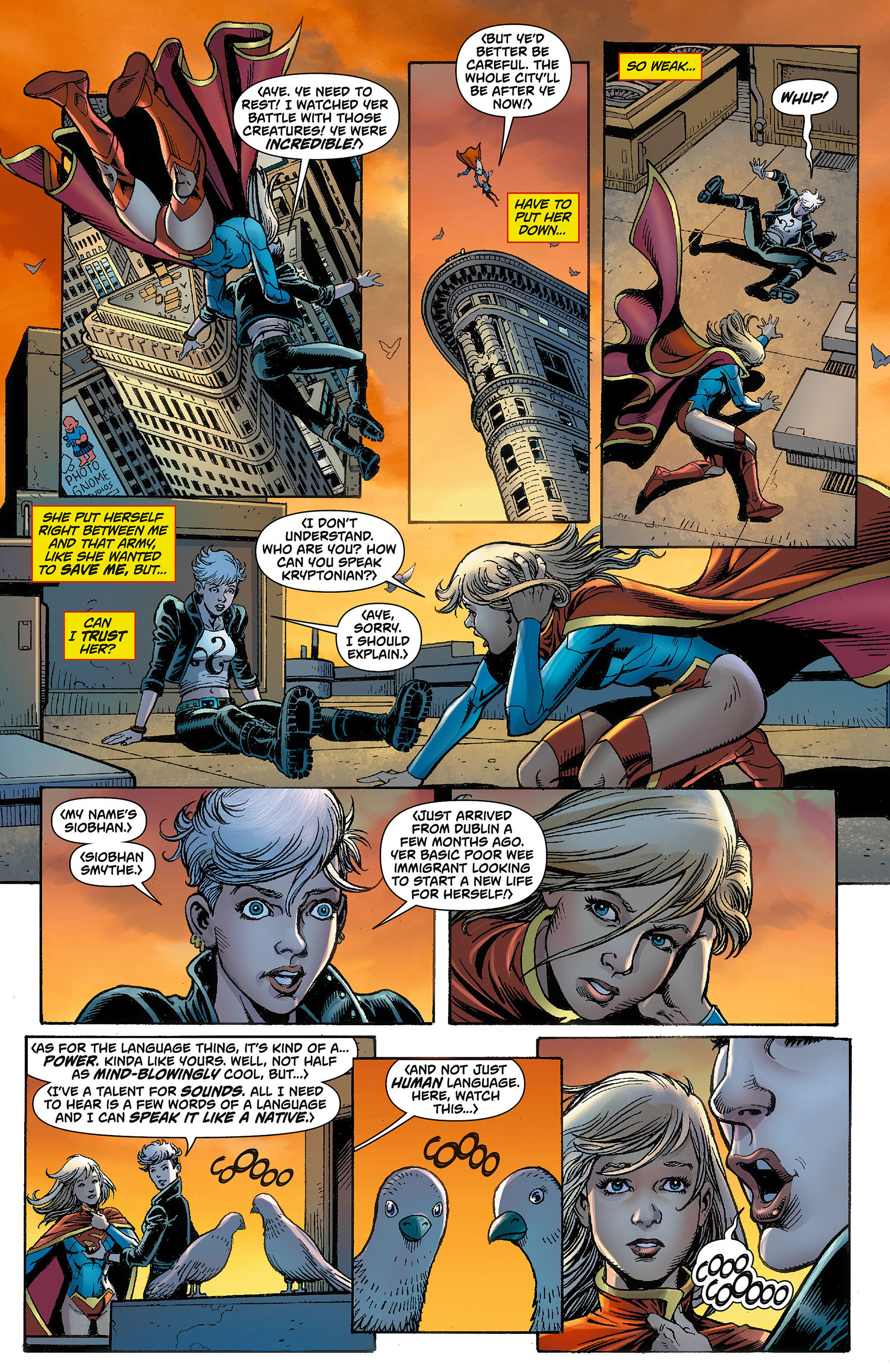 Supergirl (2011) Issue #8 #10 - English 7