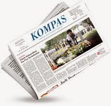 Hasil gambar untuk foto koran kompas