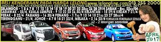 1-30/04/2017 JADUAL JUALAN KENDERAAN LELONG SELURUH MALAYSIA,SEKITAR KLANG VALLEY-SELANGOR/K LUMPUR