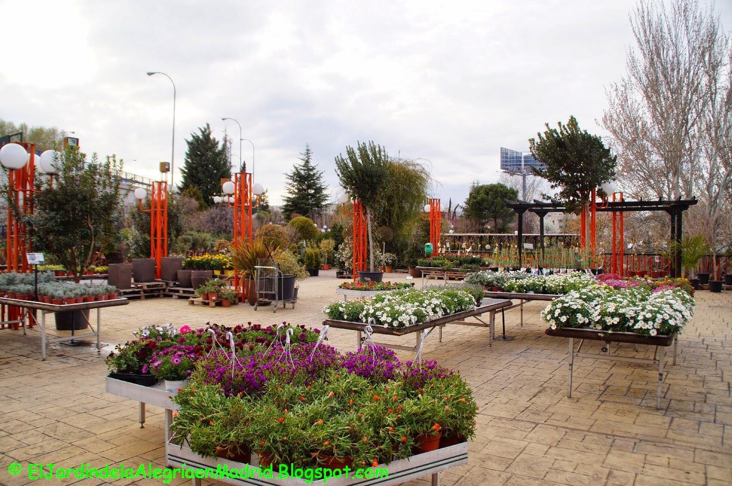 El jard n de la alegr a los pe otes un gran centro de - Centro de jardineria madrid ...