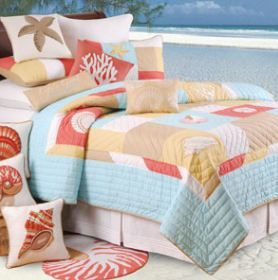 st lucia tropical bedding set