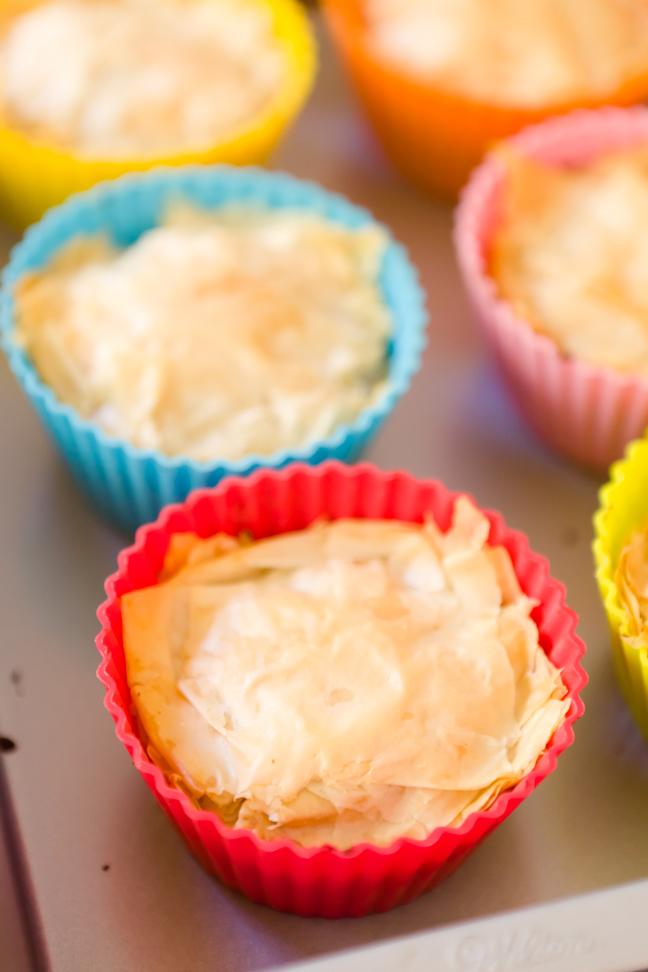 Pink Label Cupcakes: Chocolate Banana Baklava Cupcakes