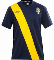 Euro 2012 Sweden Away Jersey