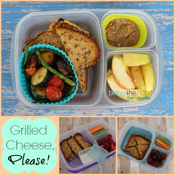 Grilled cheese for work or school lunches!