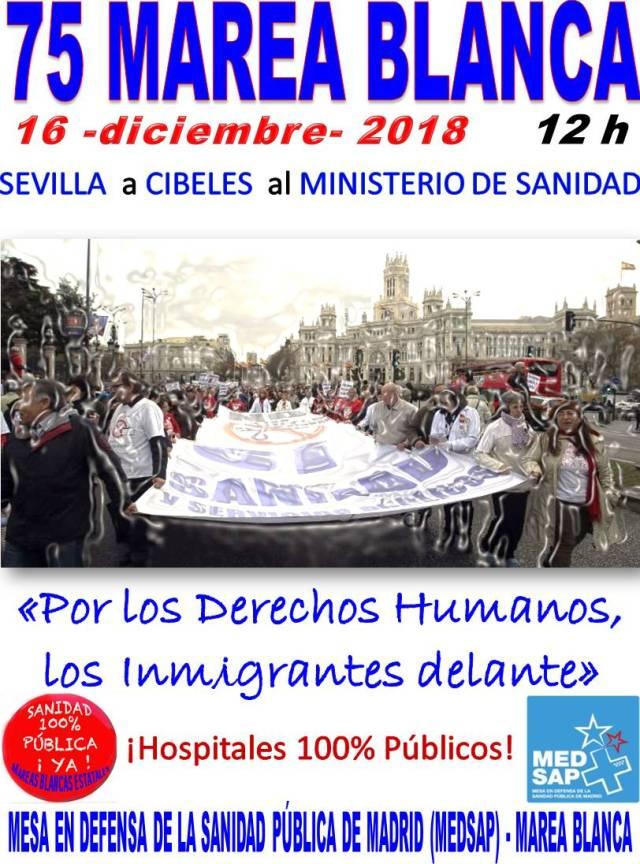 16 diciembre Sanidad Pública sin exclusiones