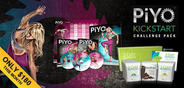 PiYo kickstart challenge pack