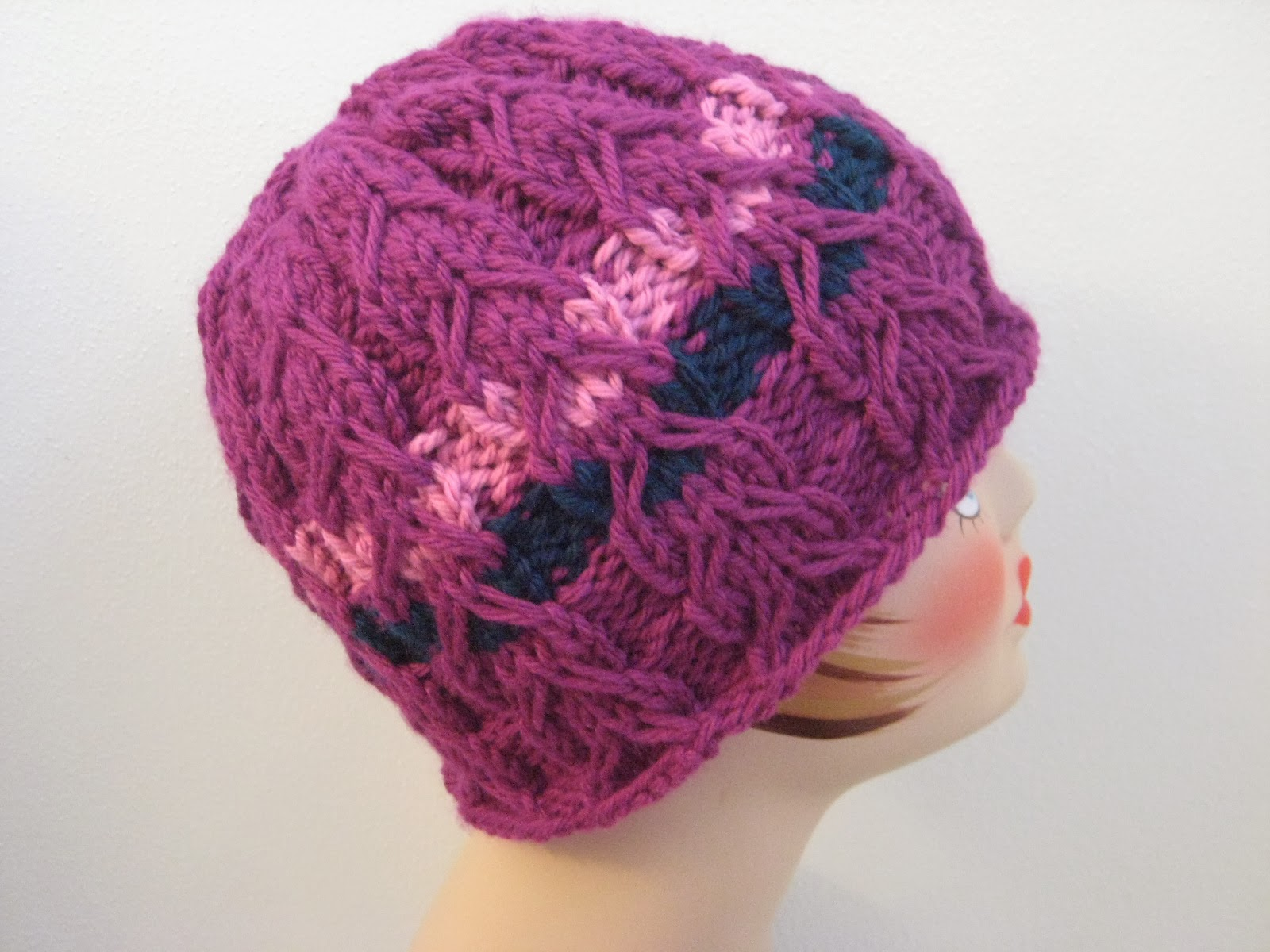 Balls to the Walls Knits: Slipped Cable Hat
