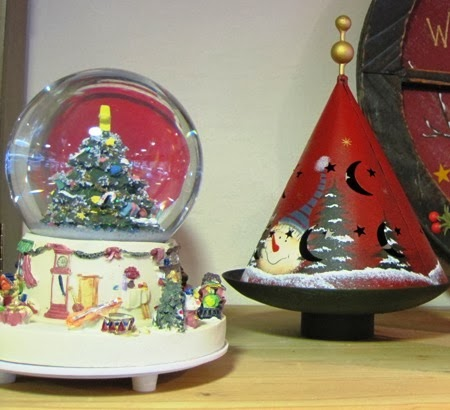 Bola de nieve musical, adorno navidad