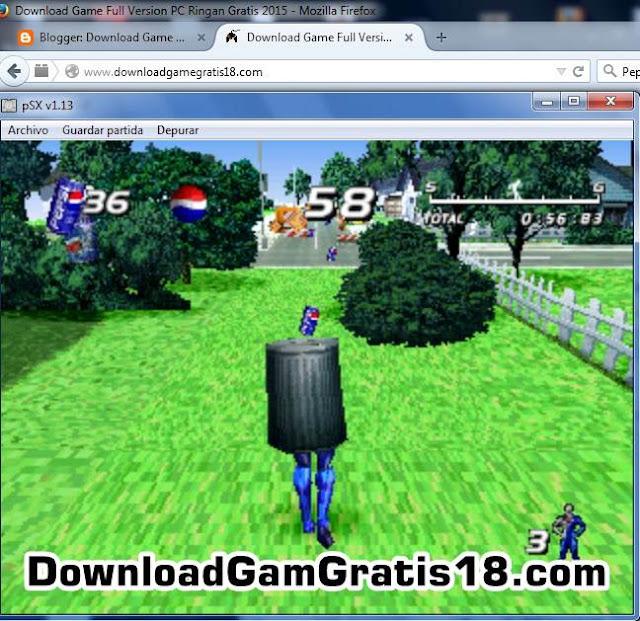 Game Pepsiman ~ Muhammad Luthfi