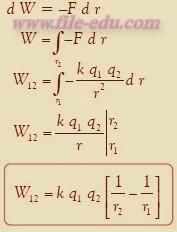 Rumus Persamaan untuk melawan gaya coulomb