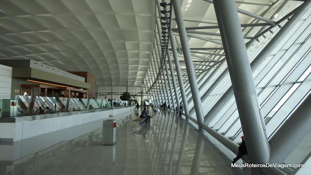 Mirante do Aeroporto Internacional de Carrasco - Montevidéu, Uruguai