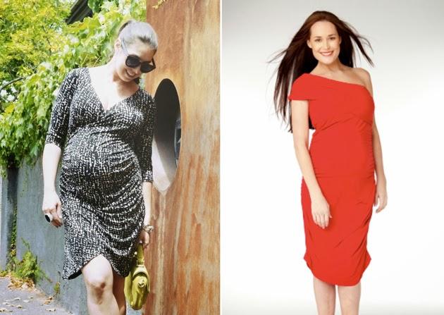 Vestidos de fiesta para embarazadas bajitas