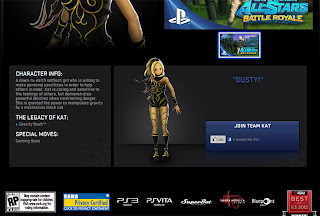 kat gravity rush ps asbr Rumor   Gravity Rush Character To Be In PlayStation All Stars Battle Royale?