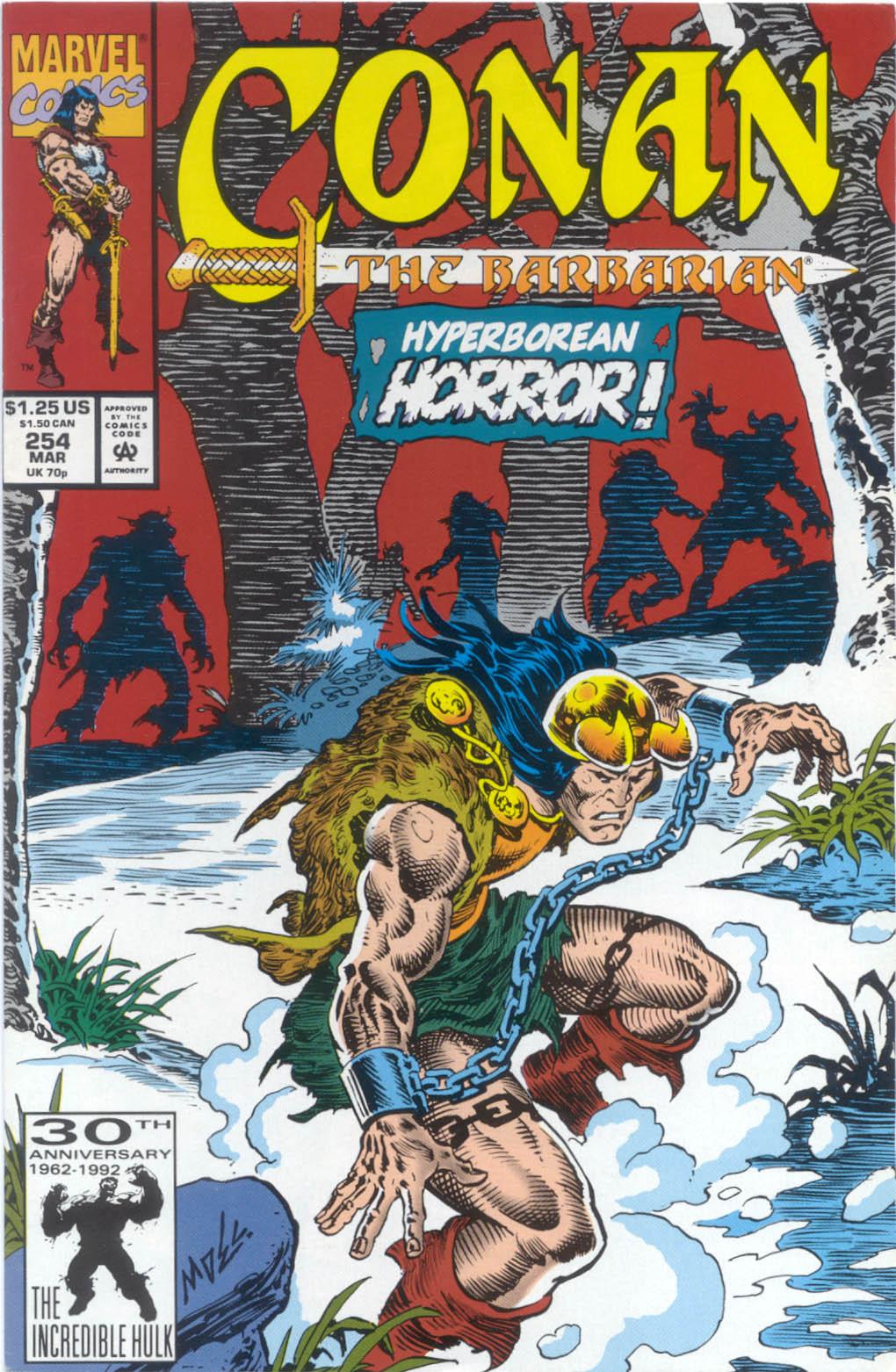 Conan the Barbarian (1970) Issue #254 #266 - English 1