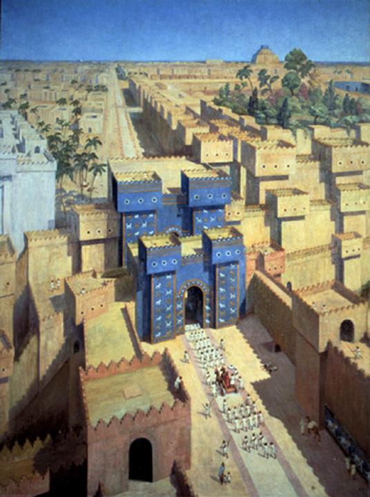 Похода в свою столицу вавилон