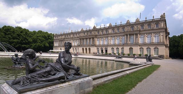 Herrenchiemsee – cung điện của hoàng gia